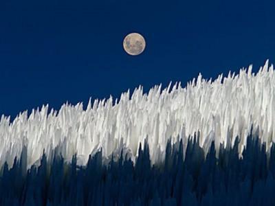 Penitentes, snežni pokajnici koji čuvaju Ande