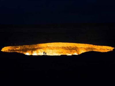 Niko još uvek nije dokazao postojanje pakla ali Vrata Pakla itekako postoje i to u Turkmenistanu.