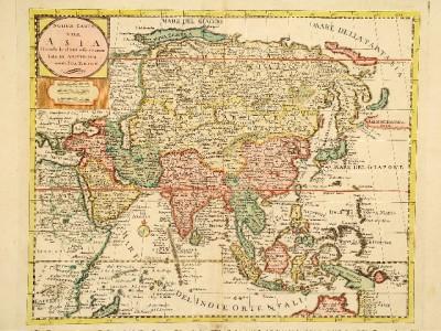 Da li znate da broj kontinenata sa kojima se graniči Azija varira?