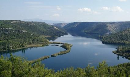 Krka, biser prirode tik uz obalu Jadrana