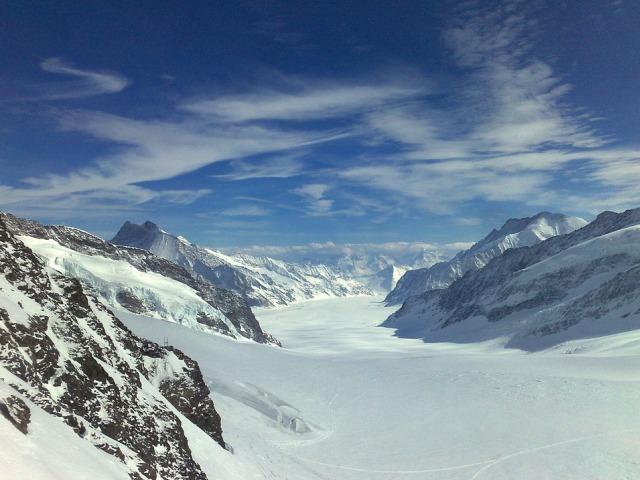 Aleč, najveći lednik Evrope i nalepši predeo Alpa
