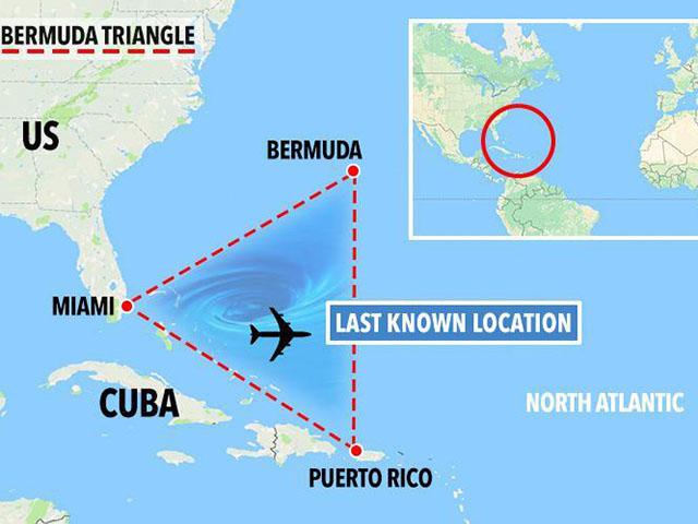 Bermudski trougao, atlantska misterija