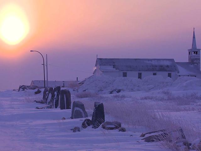 Čerčil, glavni grad polarnih medveda