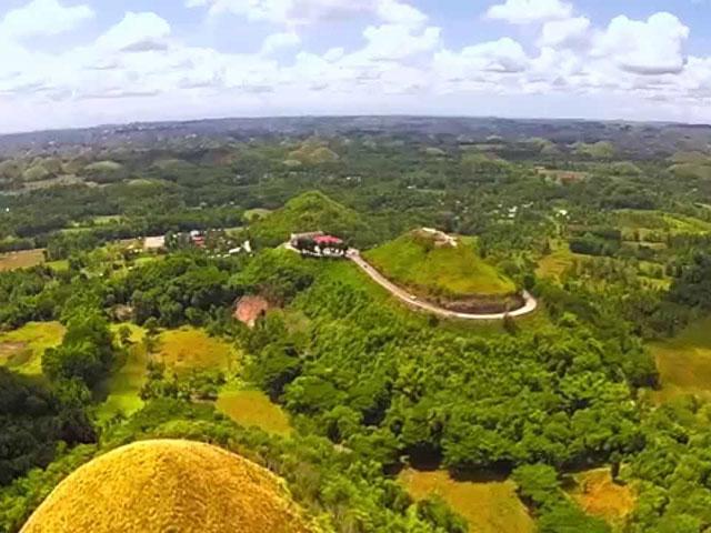 Čokoladna brda, slatki ukras Filipina