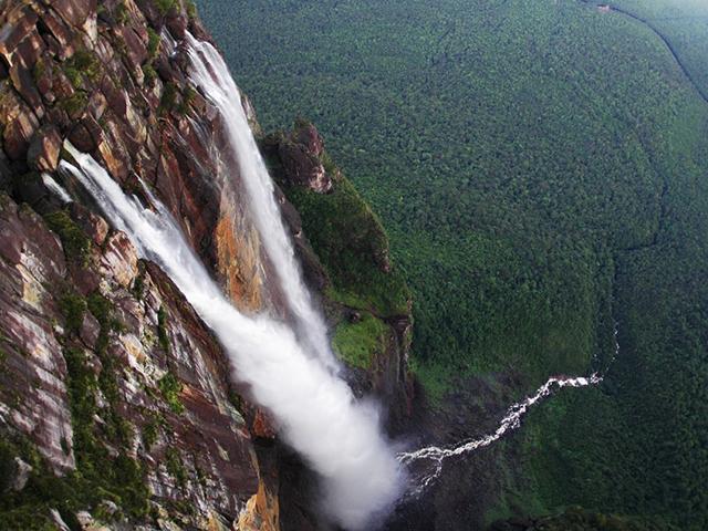 Ejndželov vodopad, najlepša moguća slučajnost