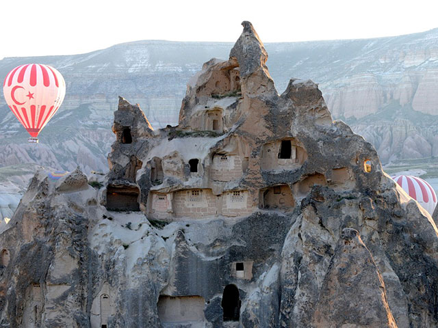 """Kapadokija, """"turska Đavolja varoš"""""""