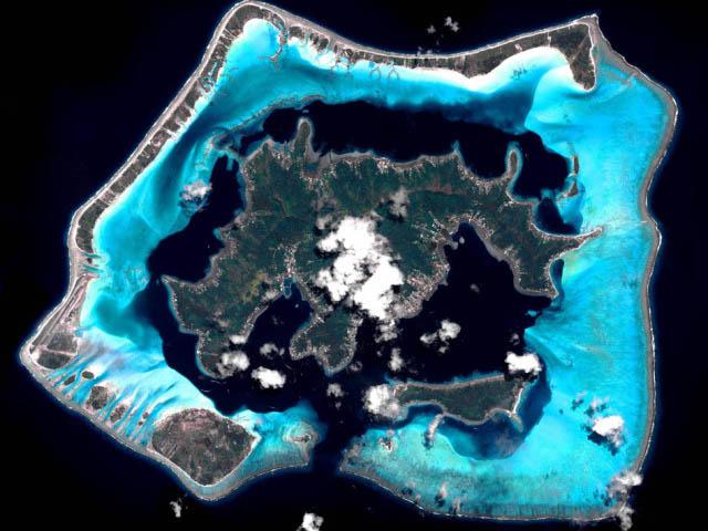 Koralna ostrva, ukrasi mora