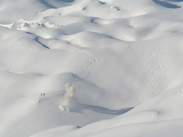 Lavine, kada planina uzvrati udarac