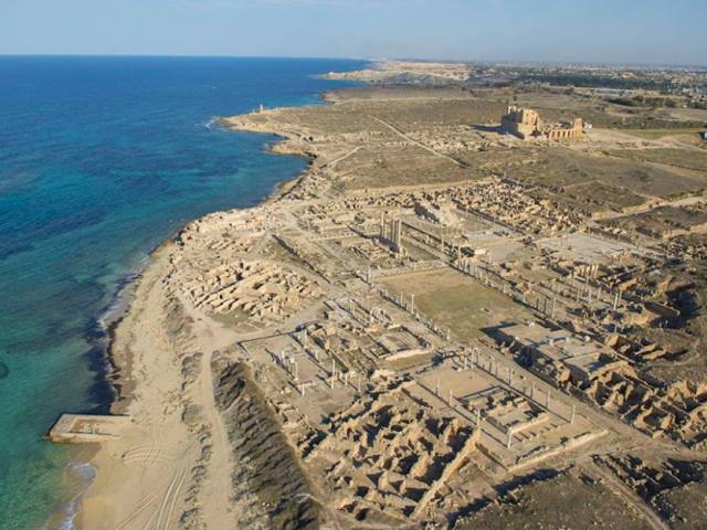 Leptis Magna, najočuvaniji rimski grad