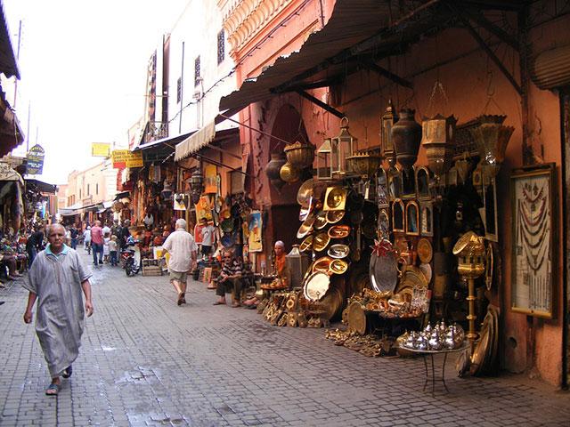 Marakeš, grad u kome je uvek karneval