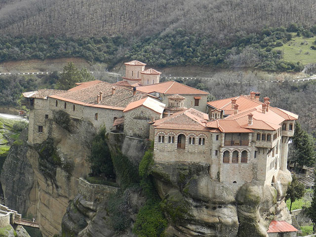 Meteori, manastiri koji lebde