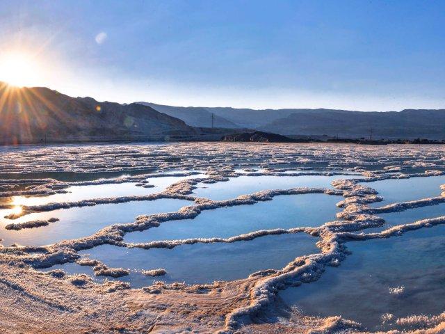 Mrtvo more, slano jezero u dubini kopna koje nestaje
