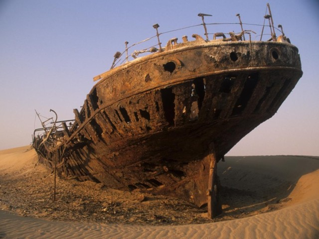 Obala Kostura,  zastrašujuće mesto na sudaru pustinje i okeana
