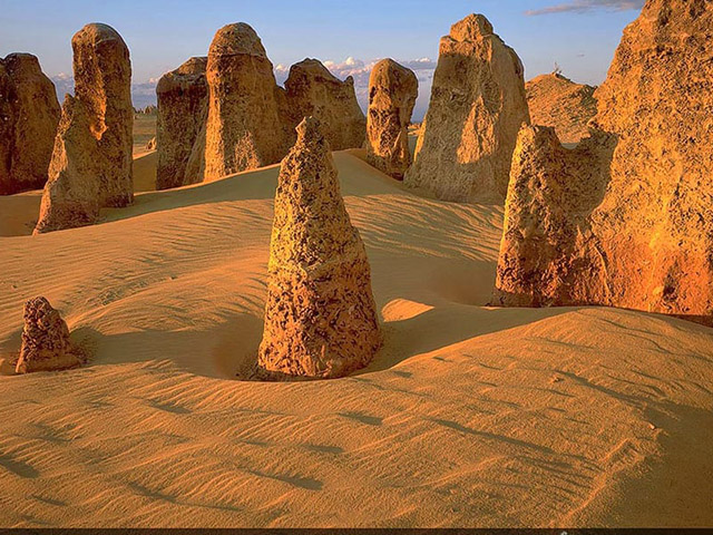 Tajanstvena Pustinja šiljaka
