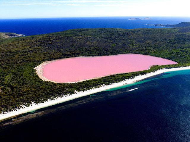 Upoznajte Hilijer, jezero ružičaste boje