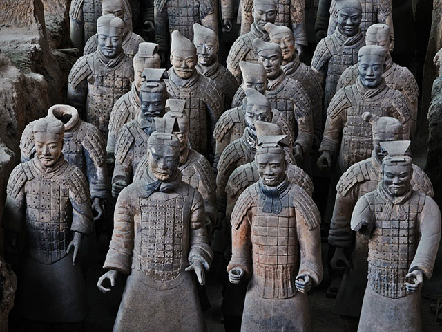 Vojska od terakote, drevni čuvari Kine