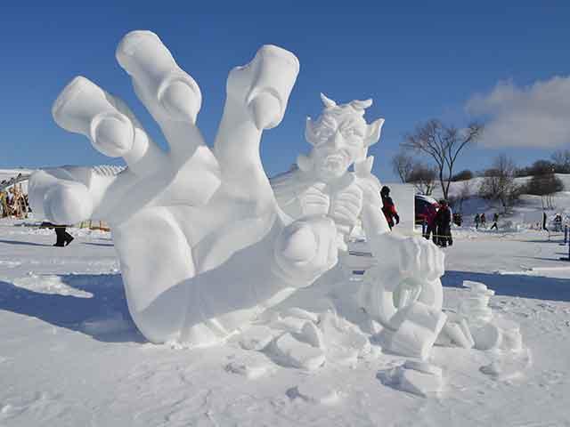 Zimski karneval u Kvebeku