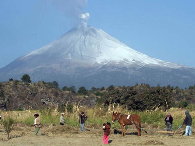 Da li znate za vulkan koji je nikao na njivi?