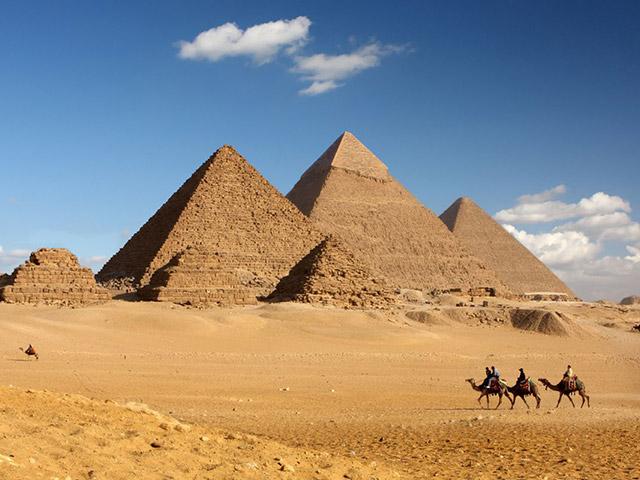 Znate li da su u vreme izgradnje Velikih piramida....?