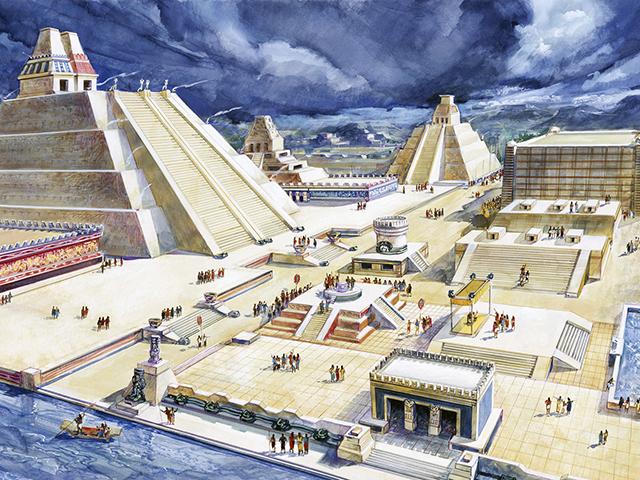 Evo par zanimljivosti o drevnom gradu Tenočtitlan...