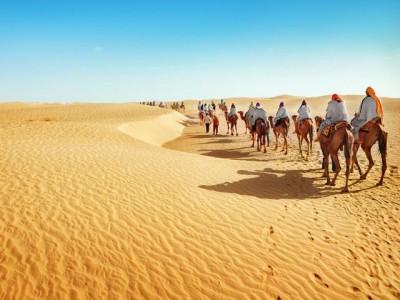 Sahara, nepregledno more peska