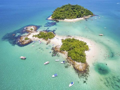 Ilja Grande, tropski raj Brazila