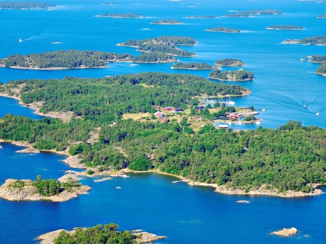 Arhipelag, hiljadu finskih ostrva