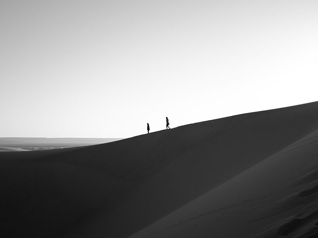 Beli Pesak, najčistija pustinja