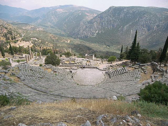 Delfi, centar drevnog sveta