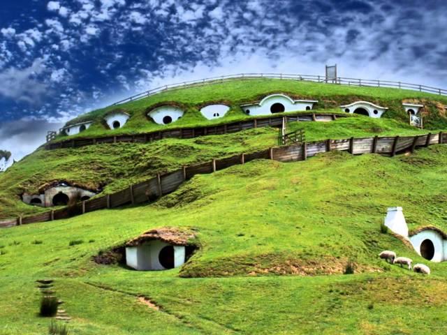 Grad Hobita zaista postoji