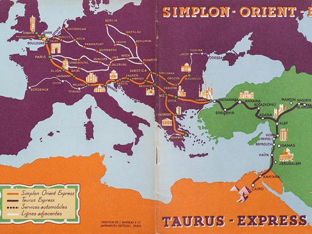 Orijent ekspres, jedan voz - cela Evropa