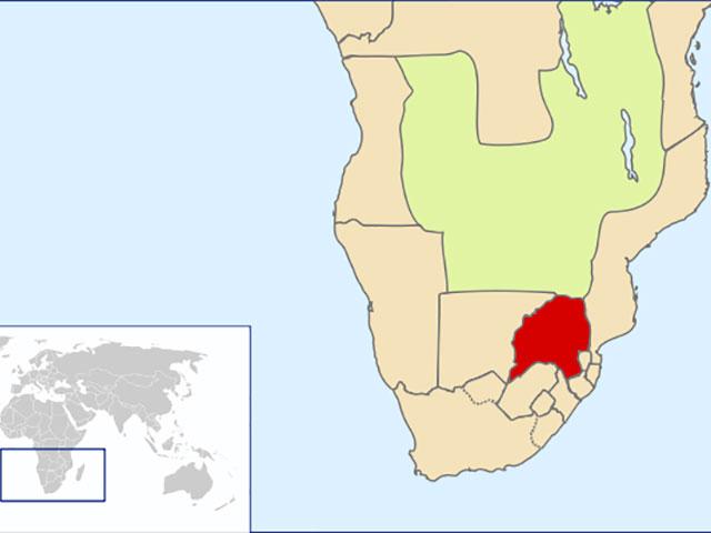 Prelepi planinski plato južne Afrike