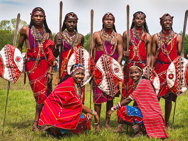 Skromno carstvo Masai plemena