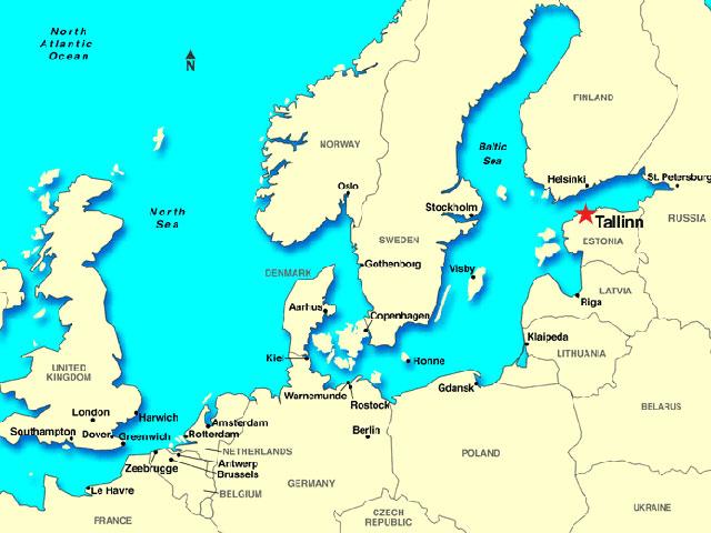 Talin, ukras Baltika