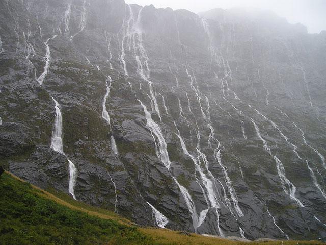 Vahupunamu oblast na Novom Zelandu, jedan od najlepših predela na svetu