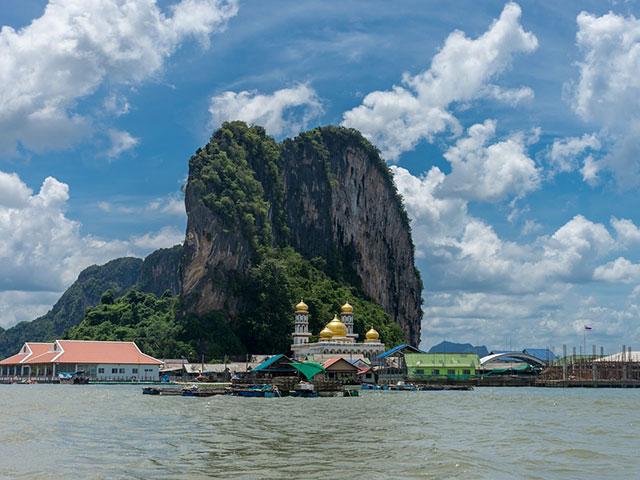 Zaliv Fanga, ukras obale Tajlanda