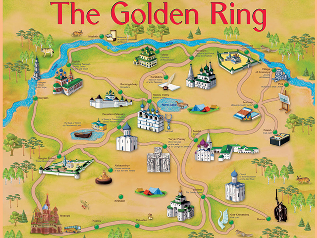 Da znate šta je to ruski Zlatni prsten?